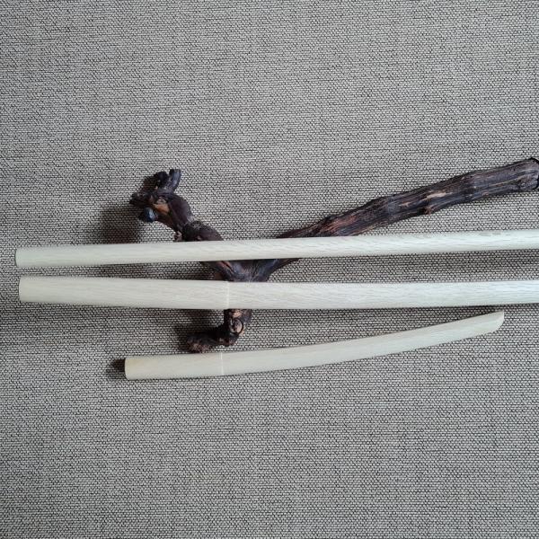 Aikido Bokken Set | Bokken, Jo, Shoto - Japanische Weißeiche