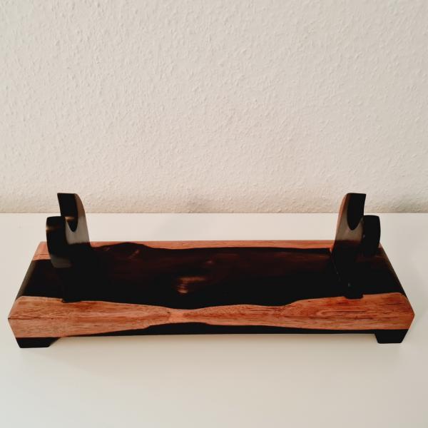 Tisch-Schwertständer für eine Katana - Ebenholz (B-Ware)